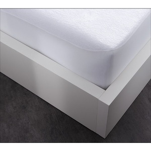 Protège matelas 100% polyester absorbant cool plus