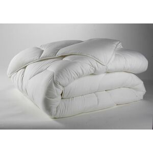 COUETTE 240X220CM 50% COTON 50% POLYESTER BLANC