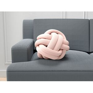 Coussin nœud rose