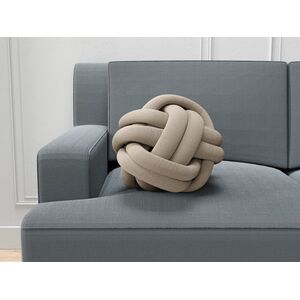 Coussin noeud chocolat